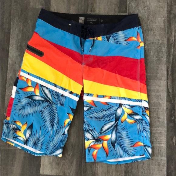c608bc7330 Quiksilver Swim | Quicksilver Board Shorts Mens Size 29 | Poshmark